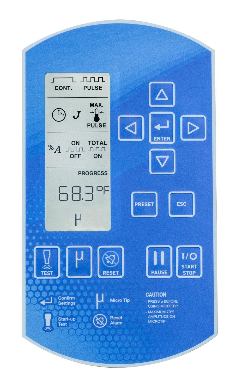 SFX550 Control Panel