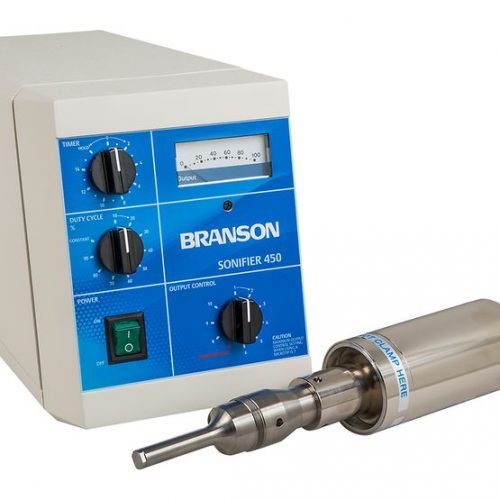 Branson S450A Analog Sonifier Cell Disruptor