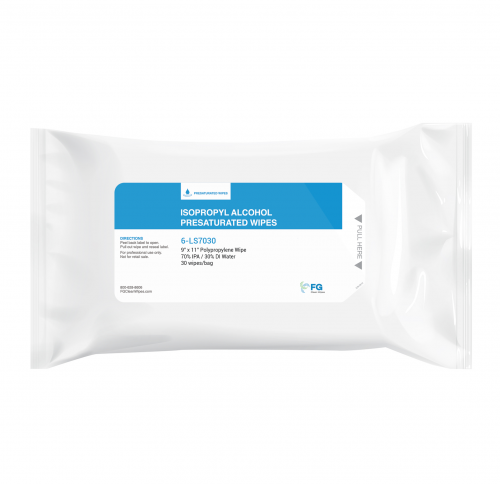 FG Clean Wipes Alcohol Wipes Pouch