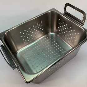 Perforated tray, 100-410-166 for use with Branson model 5800 ultrasonic cleaner