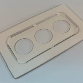 Beaker cover, 100-032-528, for use with Branson model 3800 ultrasonic cleaner
