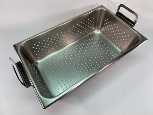 Perforated tray, 100-410-168 for use with Branson model 8800 ultrasonic cleaner