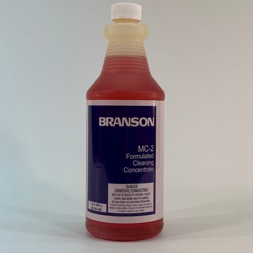 Branson MC-2, Metal Cleaner cleaning concentrate
