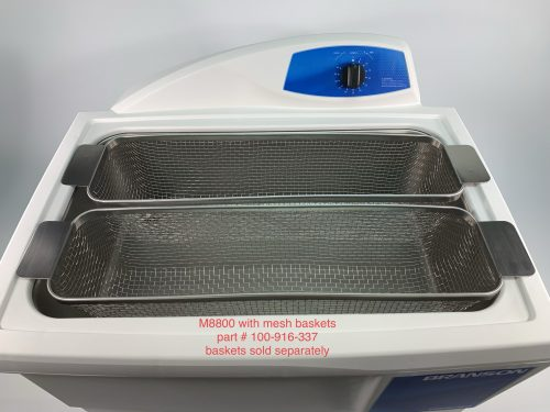 M8800 WITH TWO MESH BASKETS, PART # 100-916-337